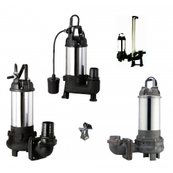 APEC-SUN SUBMERSIBLE VORTEX SEWAGE PUMP